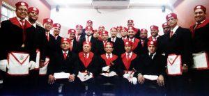 Hermosa reunión de Masones del Real Arco